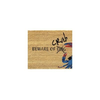 Beware of Crab Doormat
