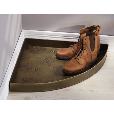 Pine Cone Boot Tray