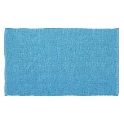 Harper Hand-Woven Turquoise Indoor/Outdoor Area Rug