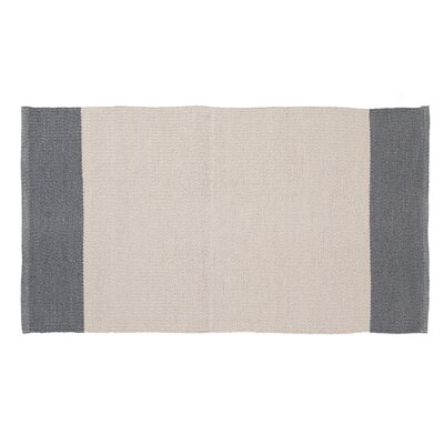 Linden Hand-Woven Cream/Gray Indoor/Outdoor Area Rug