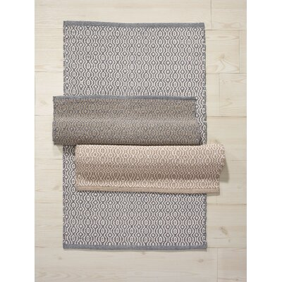Madison Jacq Hand-Woven Beige/Gray Indoor/Outdoor Area Rug