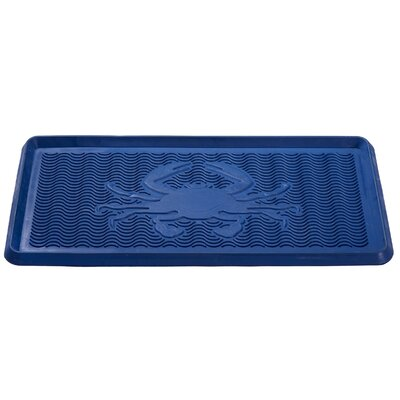 Crab Rubber Boot Tray