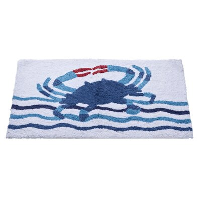 Floating Crab Bath Rug