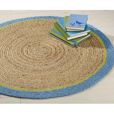 Ava Hand Braided Brown Area Rug