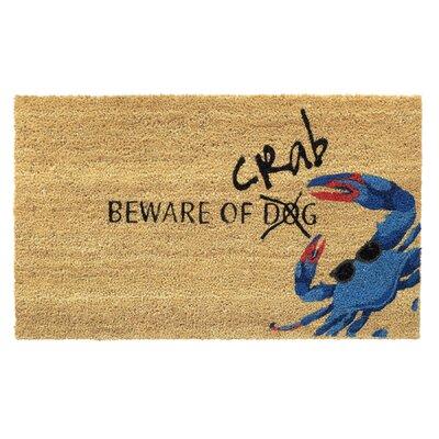 Beware of Crab Doormat