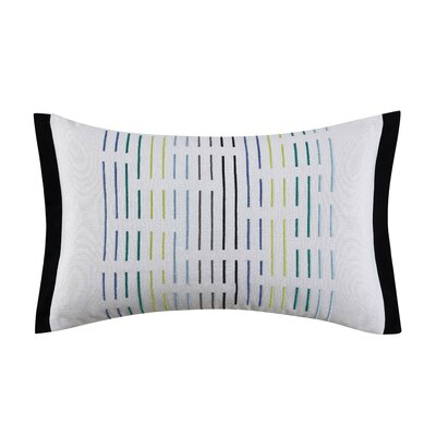 Chic Stripe Lumbar Pillow