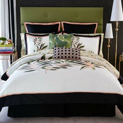 Tropical Paradise 3 Piece Comforter Set Size: Full/Queen