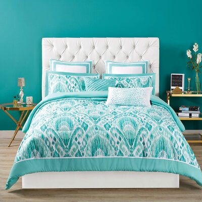 Capri Reversible Comforter Set Size: King