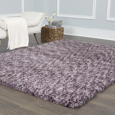 Chelsea Solid Mauve Area Rug Rug Size: Rectangle 79 x 102