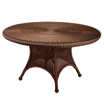 Classic Wicker Dining Table Finish: Chestnut