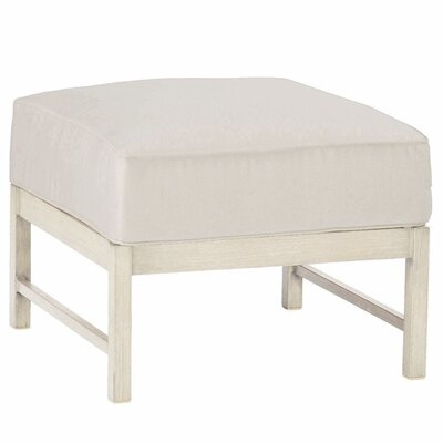Club Ottoman Finish: French Linen