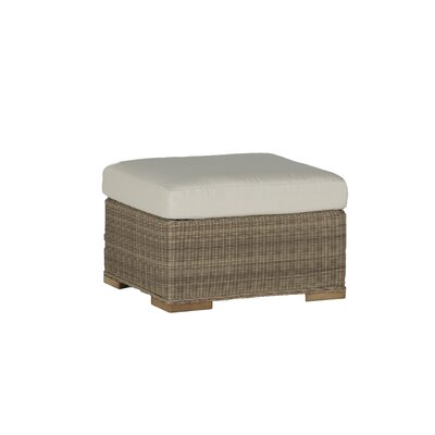 Pacific Ottoman with Cushion