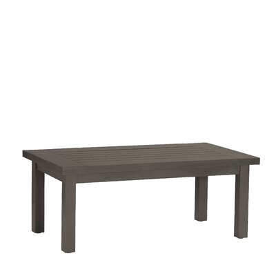 Club Rectangular Coffee Table Finish: Slate Gray