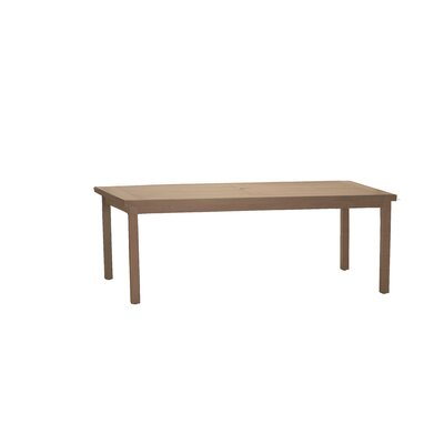 Club Rectangular Dining Table Finish: Sandalwood