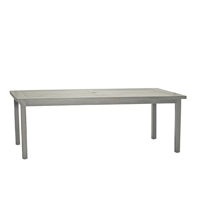 Club Rectangular Dining Table Finish: Oyster