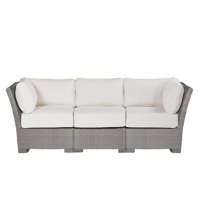 Club Woven Sofa with Cushions