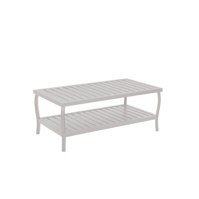 Cottage Rectangular Coffee Table Finish: French Linen