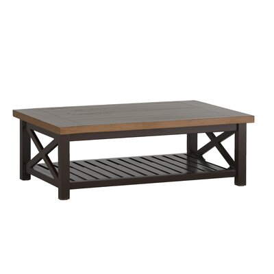 Cahaba Coffee Table Finish: Mahogany/Natural
