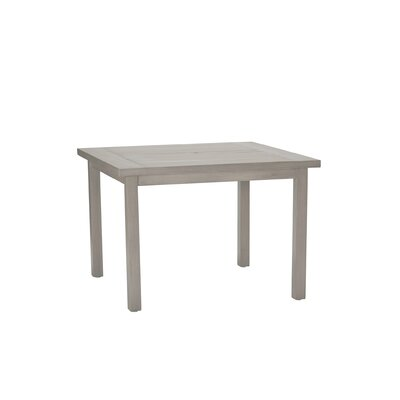 Club Square Dining Table Finish: Oyster