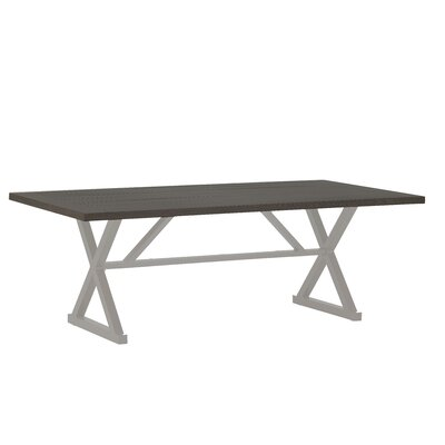 Cahaba Rectangular Dining Table Finish: Slate Gray