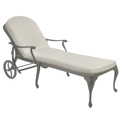 Provance Chaise Lounge Finish: Slate Gray