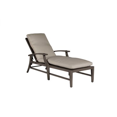 Croquet Chaise Lounge with Cushion