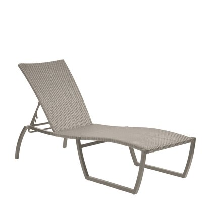 Skye Chaise Lounge Finish: Oyster
