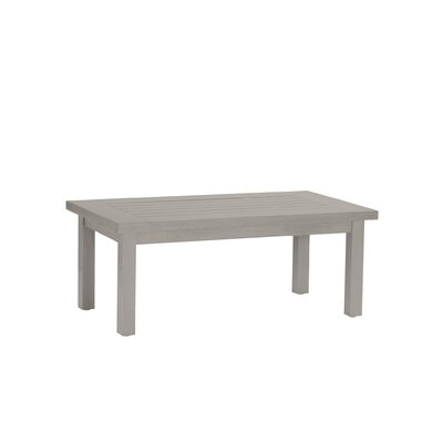Club Rectangular Coffee Table Finish: Oyster