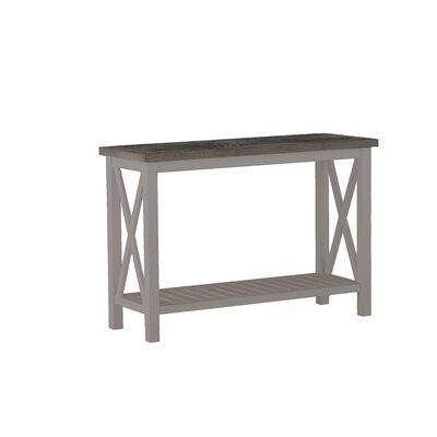 Cahaba Console Table Finish: Slate Gray