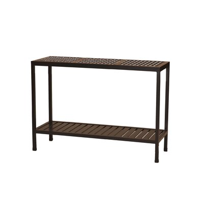 Oxford Console Table Finish: Mahogany