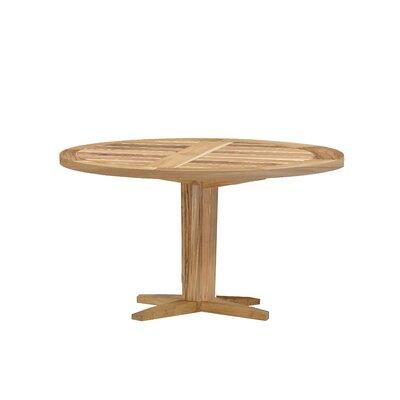 Club Teak Pedestal Dining Table