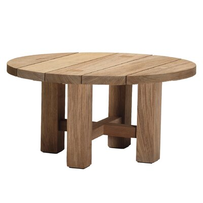 Croquet Teak Coffee Table Color: Weathered Teak