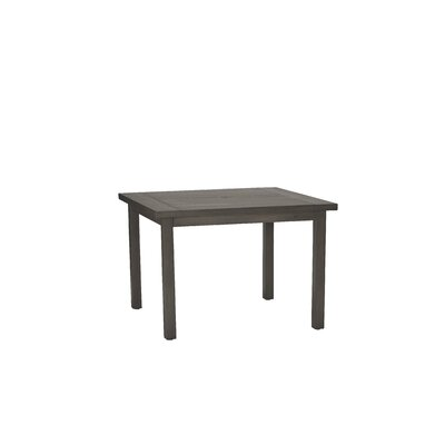 Club Square Dining Table Finish: Slate Gray