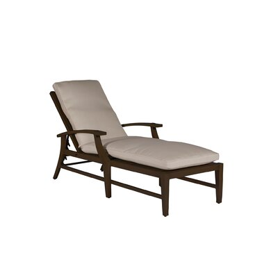Croquet Chaise Lounge Finish: Mahogany