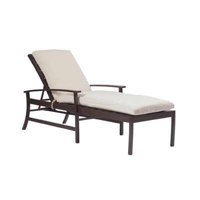 Charleston Chaise Lounge Finish: Mahogany