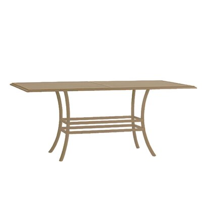 Cort Rectangular Bar Table Base Finish: Weathered