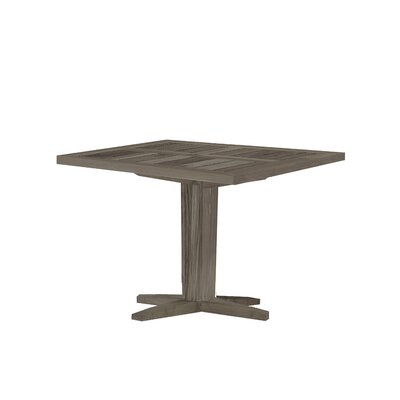 Teak Square Bistro Table Top Finish: Weathered Teak