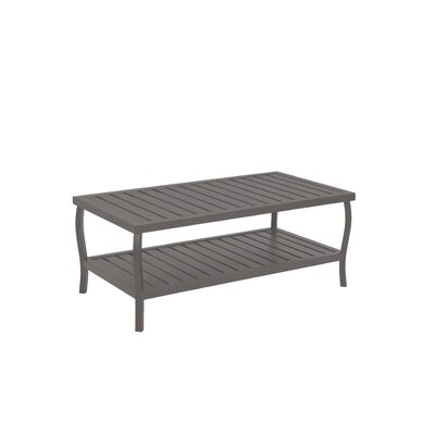 Cottage Rectangular Coffee Table Finish: Slate Gray