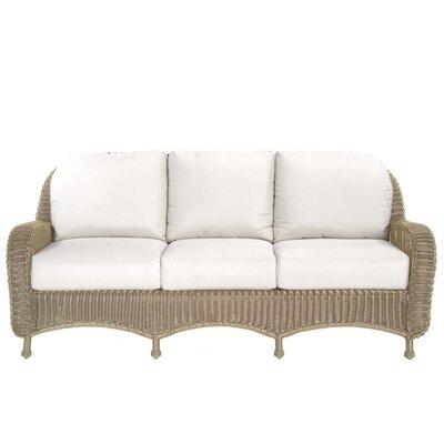 Wicker Sofa with Cushion