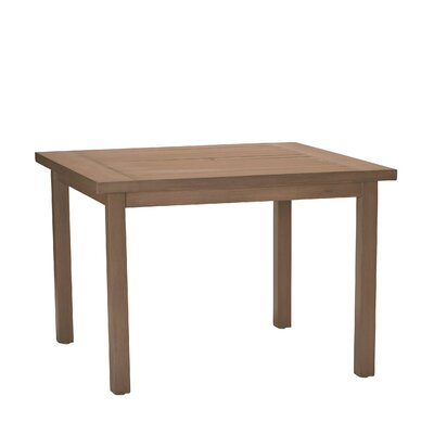 Club Square Dining Table Finish: Sandalwood