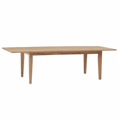 Extension Farm Dining Table Finish: Weathered Teak