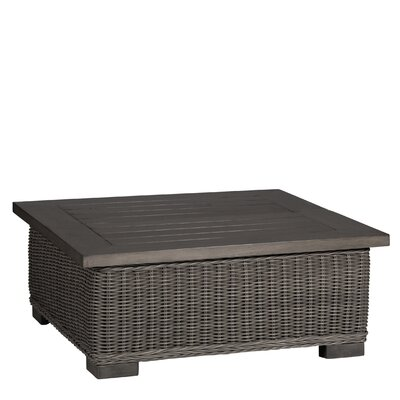 Rustic Coffee Table Finish: Slate Gray