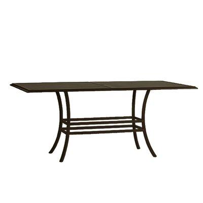 Cort Rectangular Bar Table Base Finish: Mahogany