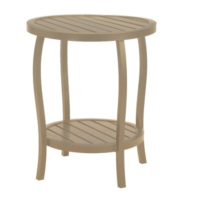 Cottage Round Side Table Finish: Weathered