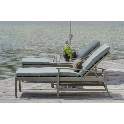 Charleston Chaise Lounge with Cushion