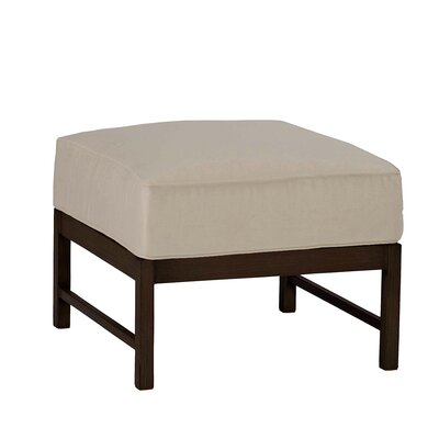Charleston Ottoman with Cushion