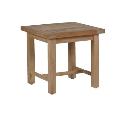 Club Teak Side Table Finish: Natural Teak