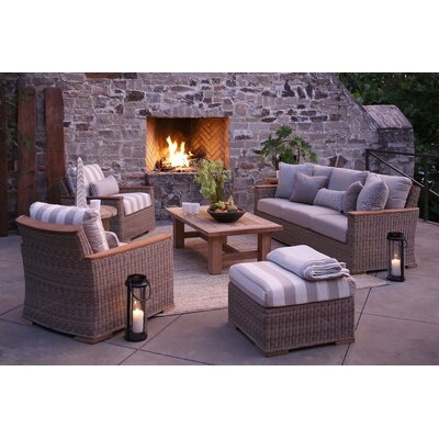 Pacific Outdoor Lounge Seating Group with Cushion