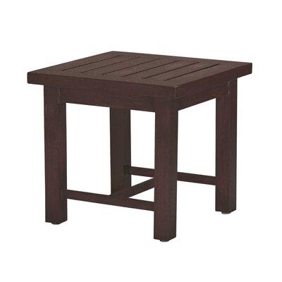 Club Side Table Finish: Mahogany