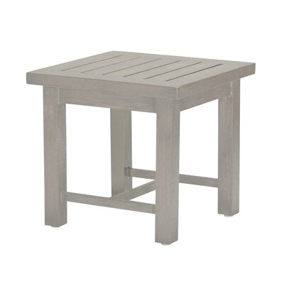 Club Side Table Finish: Oyster